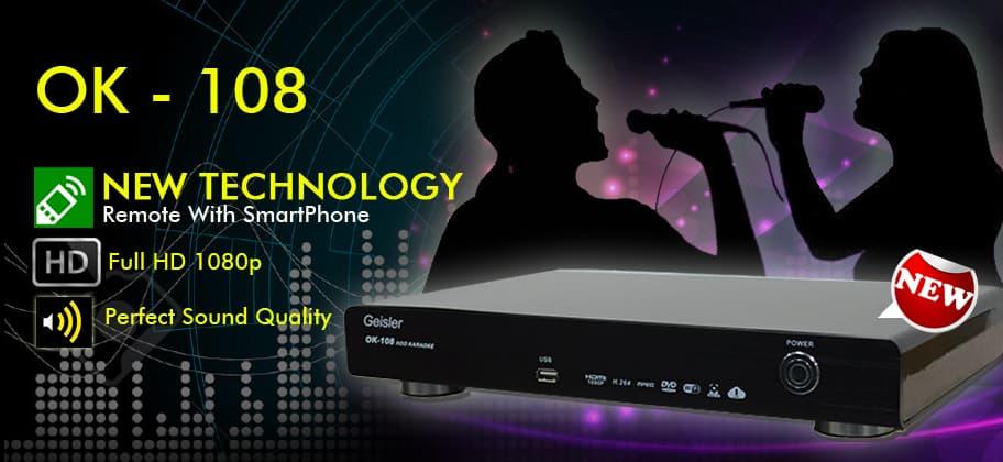 Bless Audio - Geisler Karaoke ok 108 + Hdd 2 Tera - Blanja.com