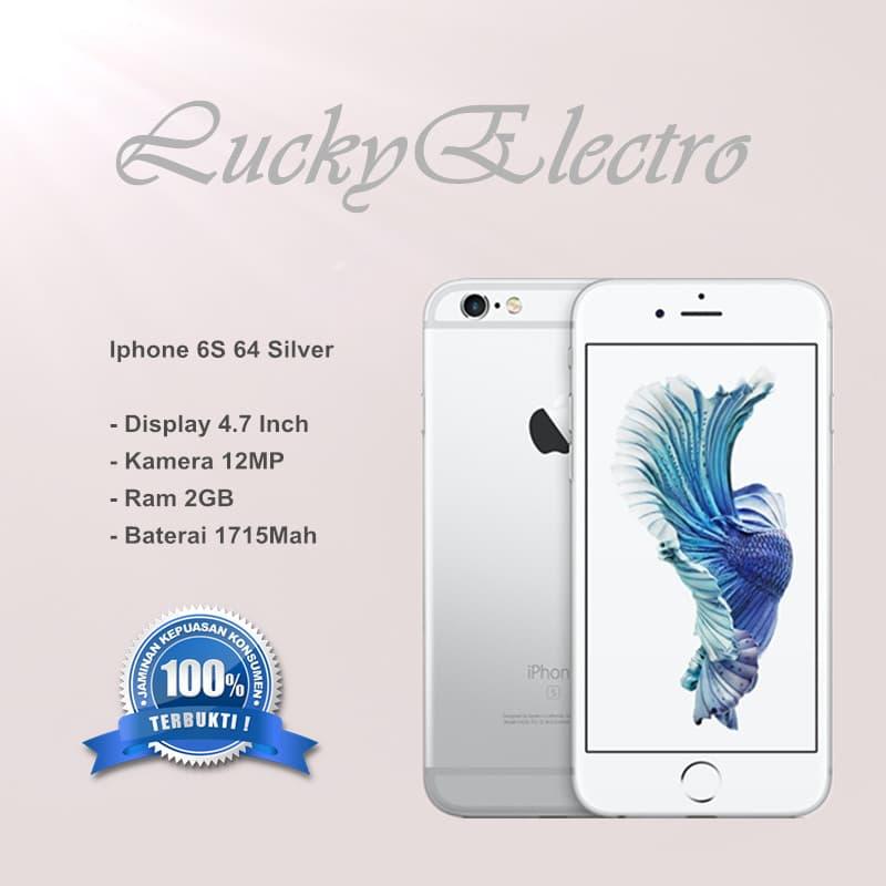 Jual Iphone 6s 64gb Silver - Garansi Toko - Putih  9264d92956