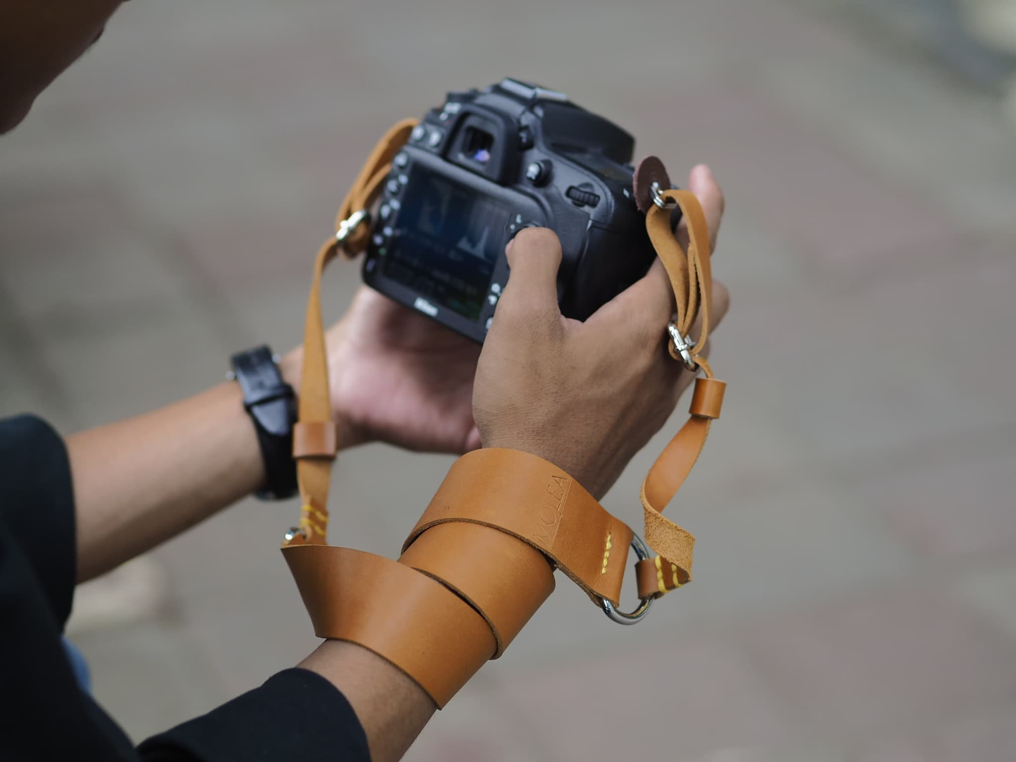 Strap Camera / Neck Strap Camera / Tali Kamera / Leather Strap Camera - Blanja.com