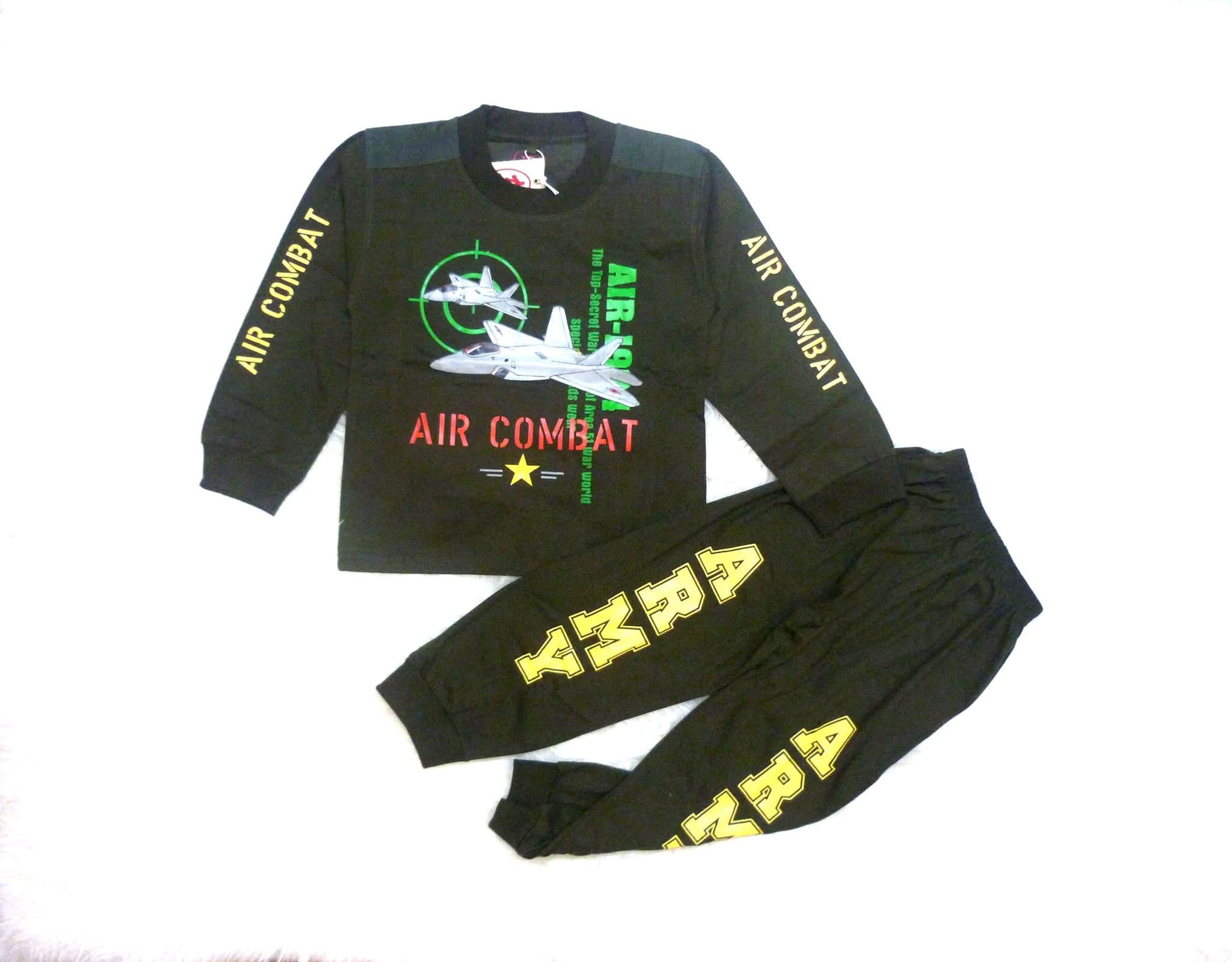 Setelan Baju Tidur Outfit Anak Laki