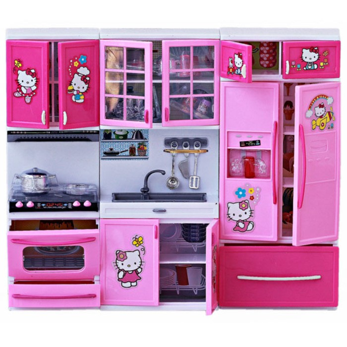 Mainan Kitchen Set Dapur Hello Kitty