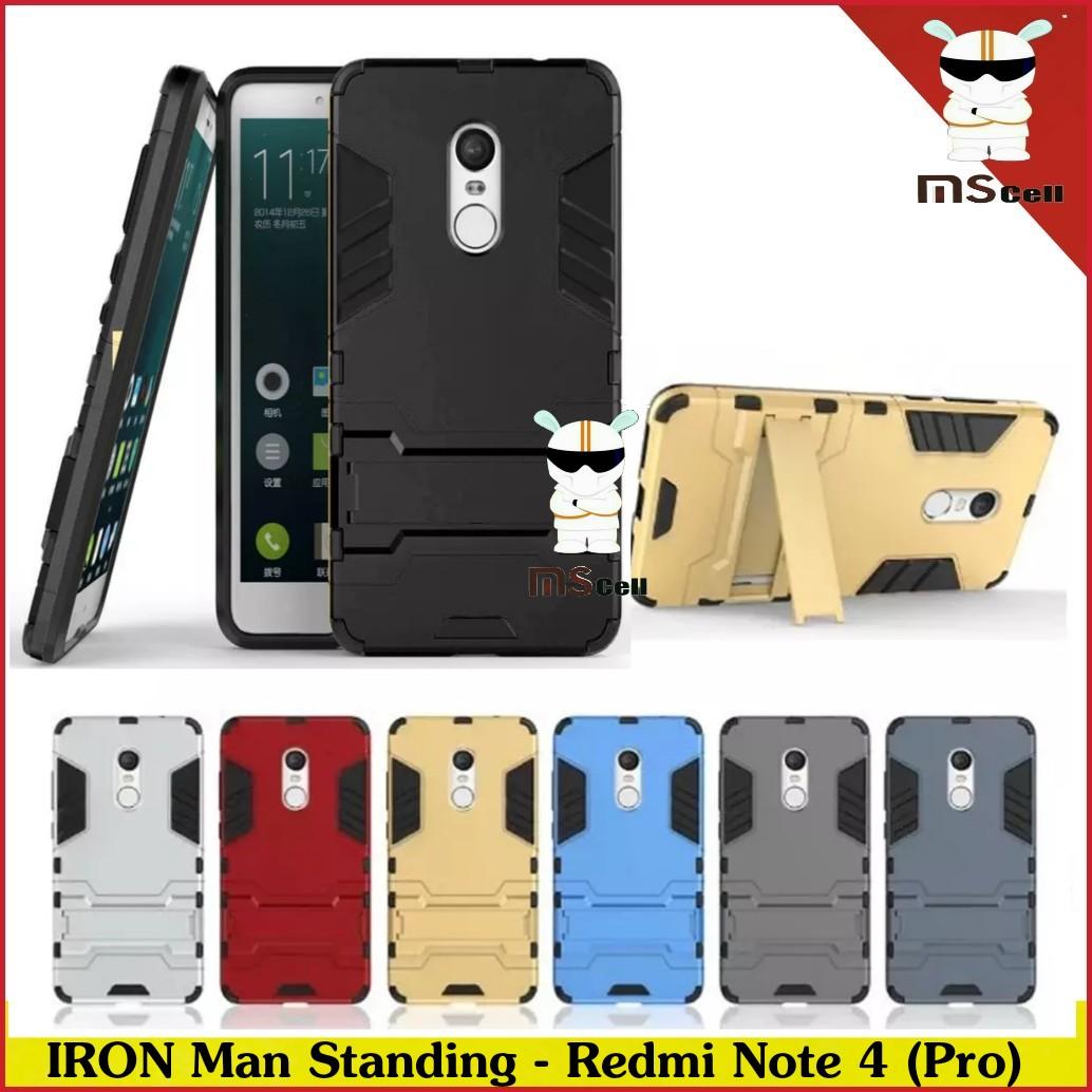 Jual Case Xiaomi Redmi Note 4 Mediatek Transformer Robot Iron Transformers Standing Biru Man Mscell Tokopedia