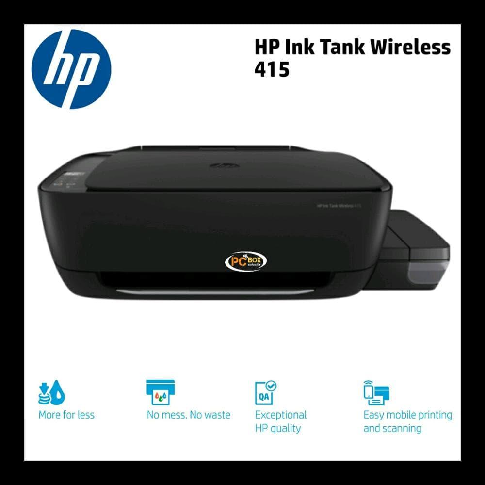 Jual PRINTER HP Ink Tank Wireless 415 All-in-One - Kota