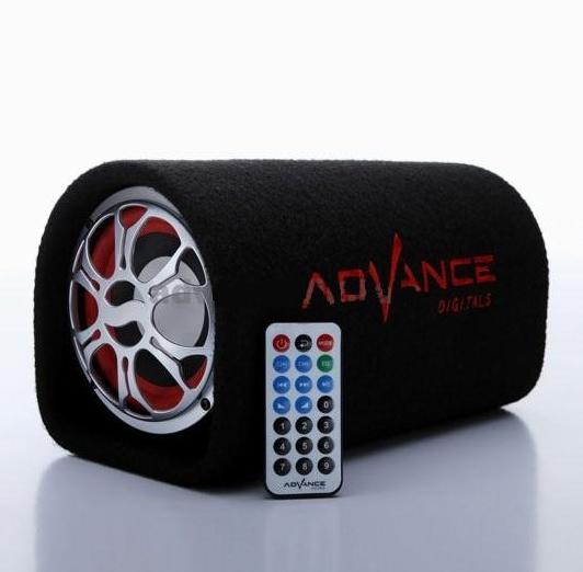 Speaker Advance T-103 Karaoke Aktif Mobil Subwoofer Music Box Musik 8