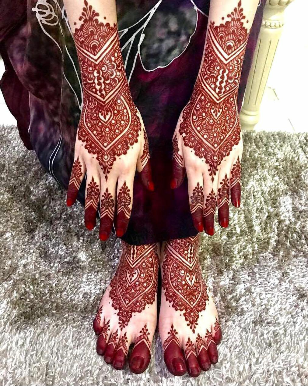 Gambar Henna Tangan Kaki Modelemasterbaru