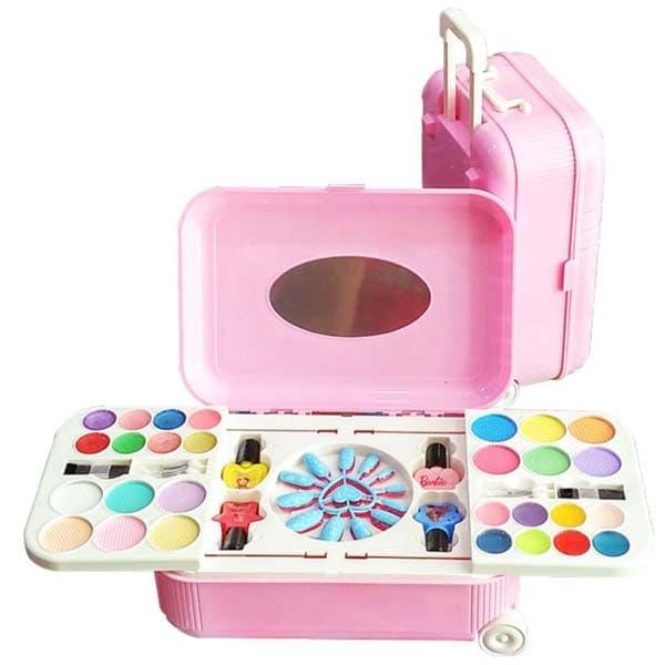 harga Mainan Make Up Fashion And Nail Art Set Koper Barbie Bea Blanja.com