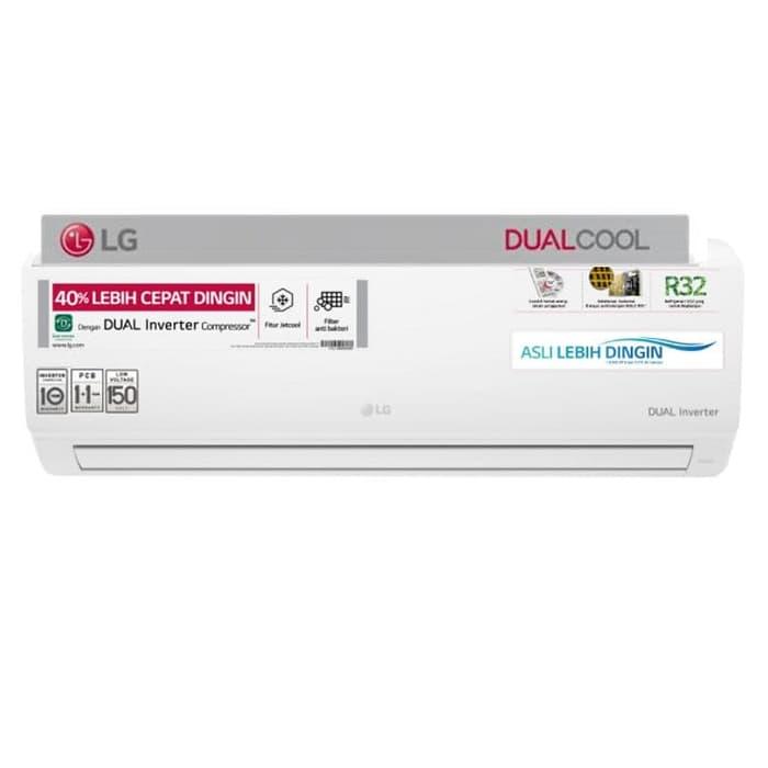 harga Lg Ac Dual Cool Eco Inverter 1 Pk - T10ev3   Pasang   Pipa 5 Mtr Blanja.com