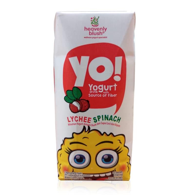 Yogurt Yo! For Kids Prisma Lychee 5 X 200 Ml - Blanja.com