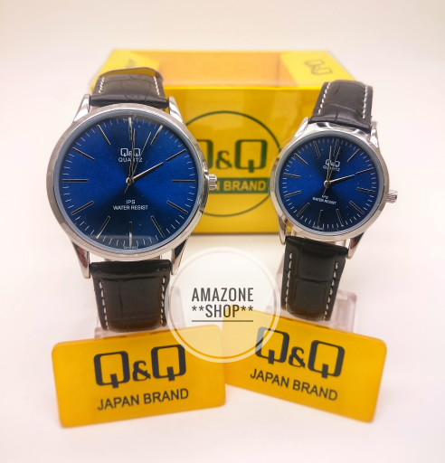 Jual Jam Tangan Couple Original Q q Qq Qnq Model Jam Dw Tipis Tali ... beb05cd6a0