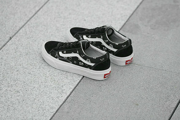 Cheap Sankuanz x Vans Vault Style 36 Old Skool Black White