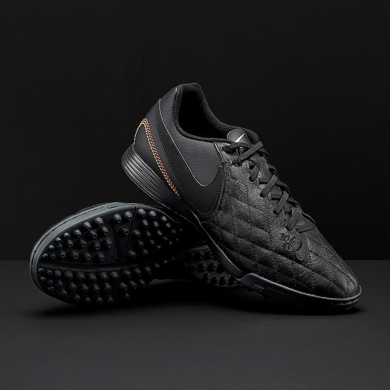 Jual Sepatu Futsal Nike TiempoX Ligera IV Ronaldinho10 TF Black ... 1fa820131