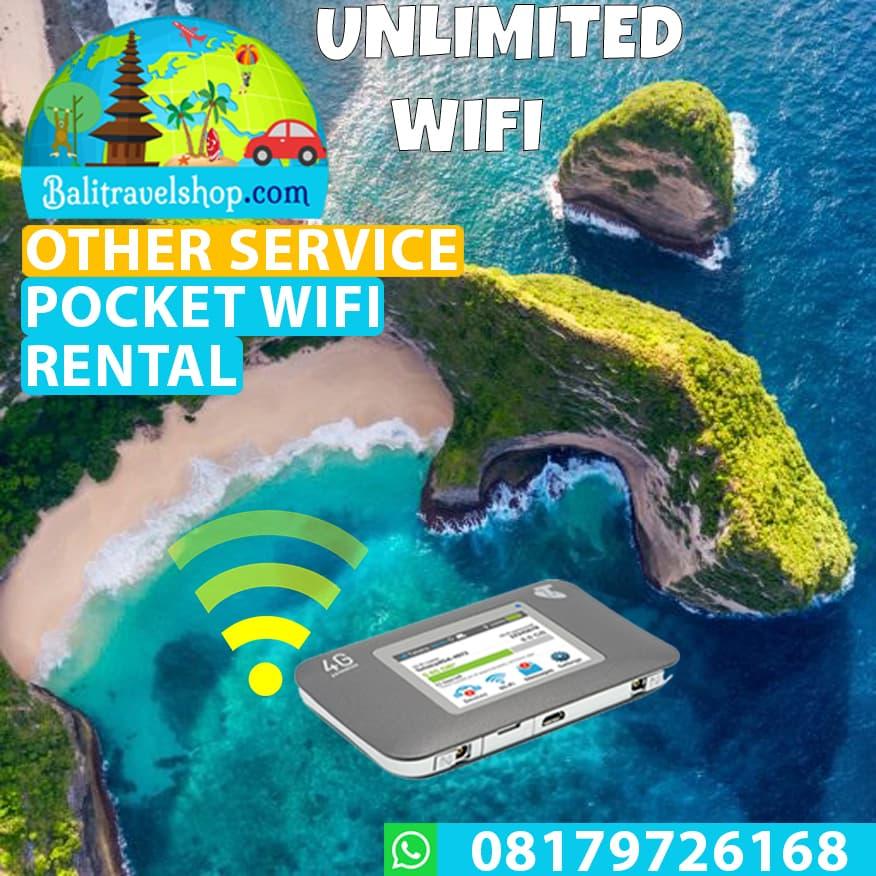 Voucher Sewa Pocket Wifi Unlimited di Bali - Blanja.com