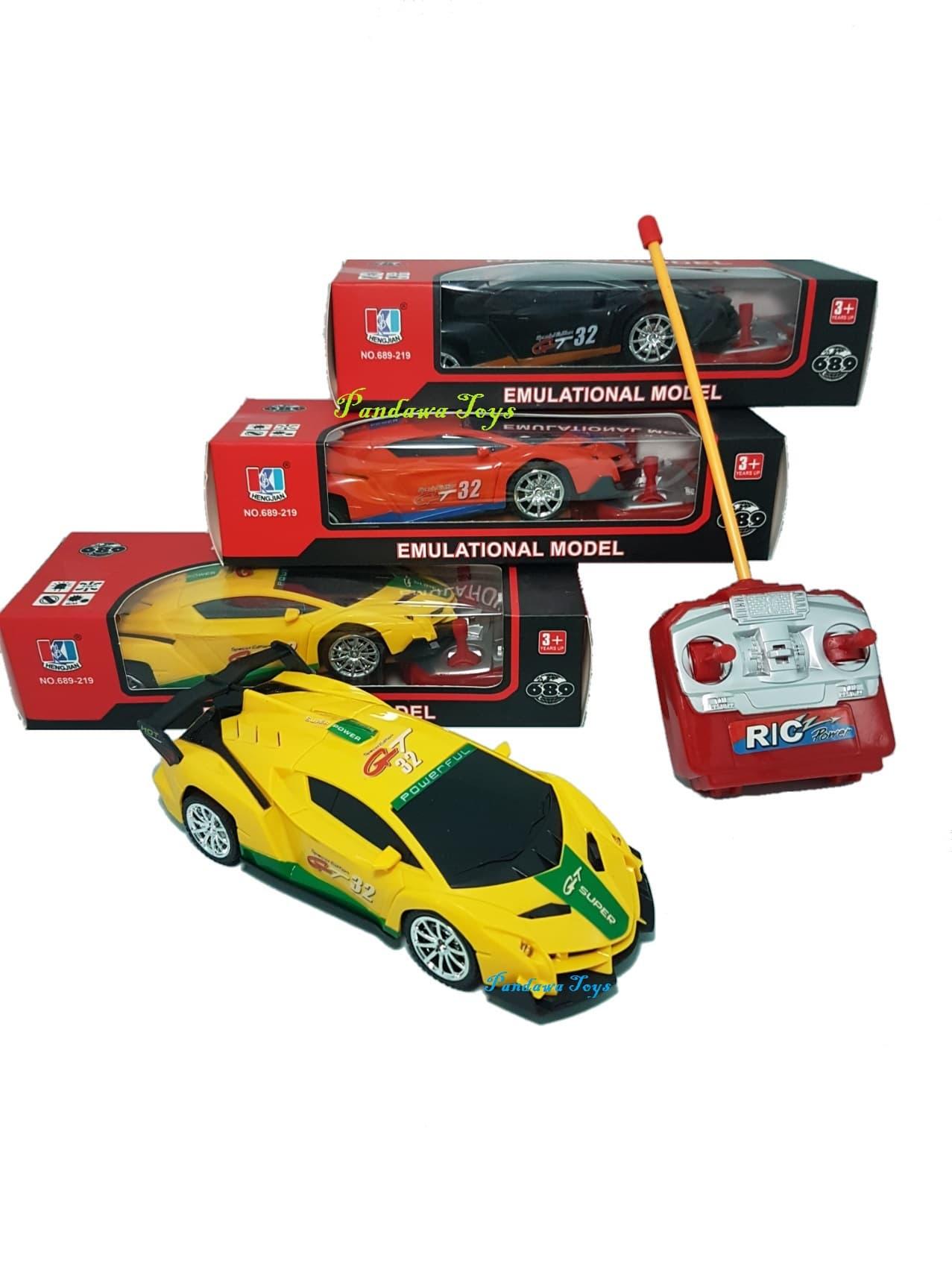 Mainan Mobil Remot Kontrol Anak Mobil Lamborghini Remote Control Bayi Hadiah Ulang Tahun Anak
