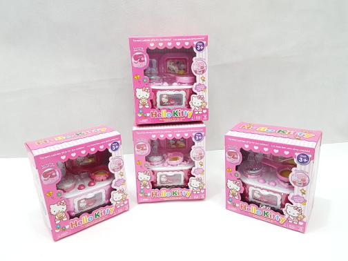 Mainan Anak Hello Kitty Kitchen Set mini Mainan.dapur murah Toys