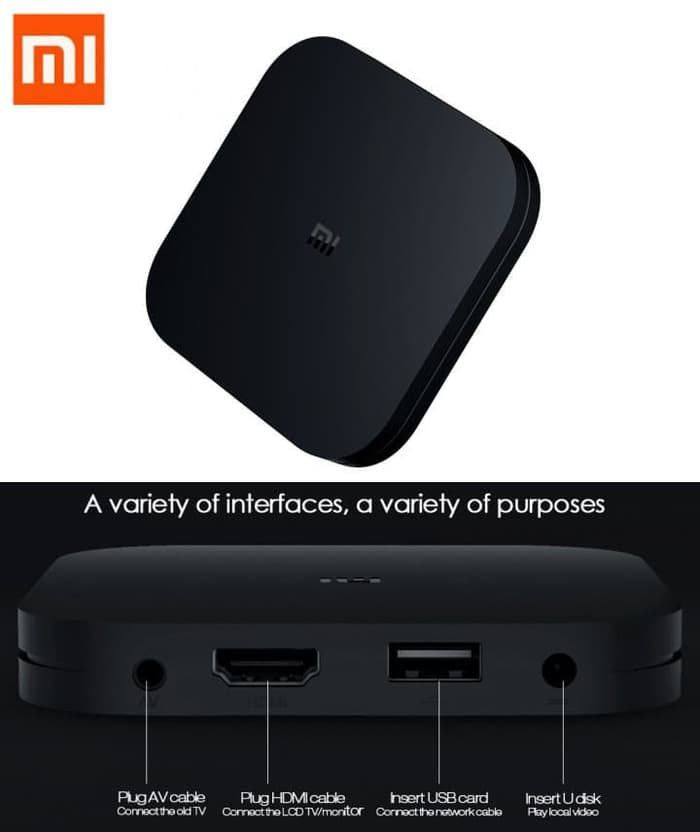XIAOMI Mi Box 4C TV Box Android 7.1 English - Blanja.com