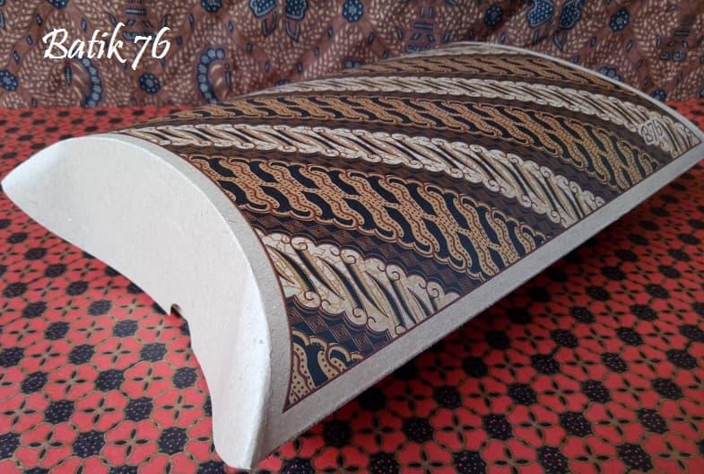 Tempat Kado Pillow Box Pillow Bag Handmade Premium Souvenir Kado Batik Parang 3pcs - Blanja.com