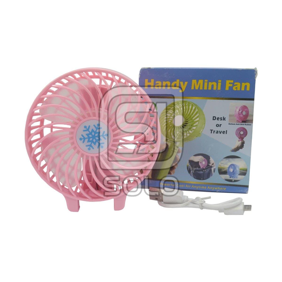 Kipas Angin Handy Mini Fan Flexible Usb Kipas Tangan Portable