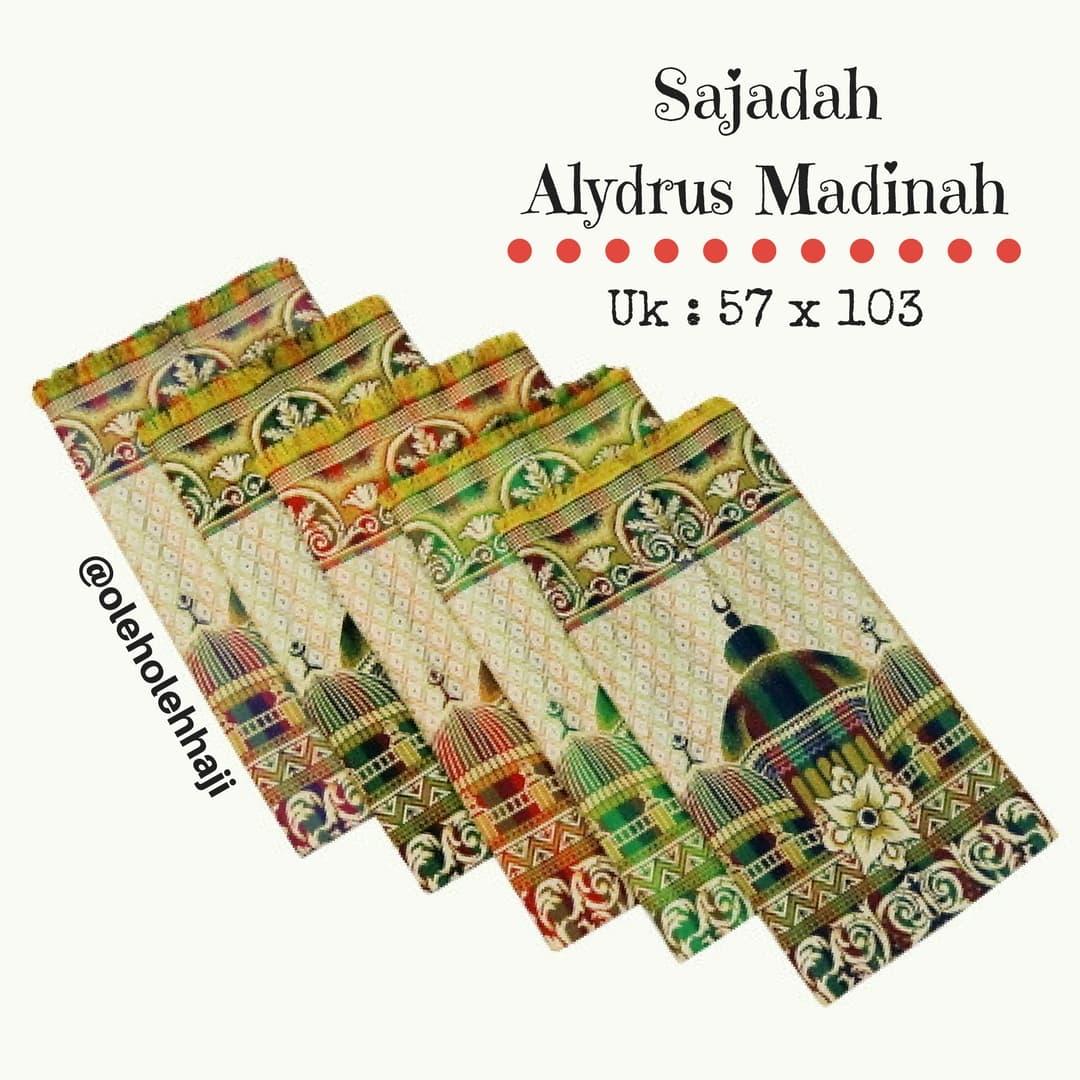 Jual Sajadah Murah Alydrus Madinah Traveling Oleh Haji Turkey Umroh Tokopedia