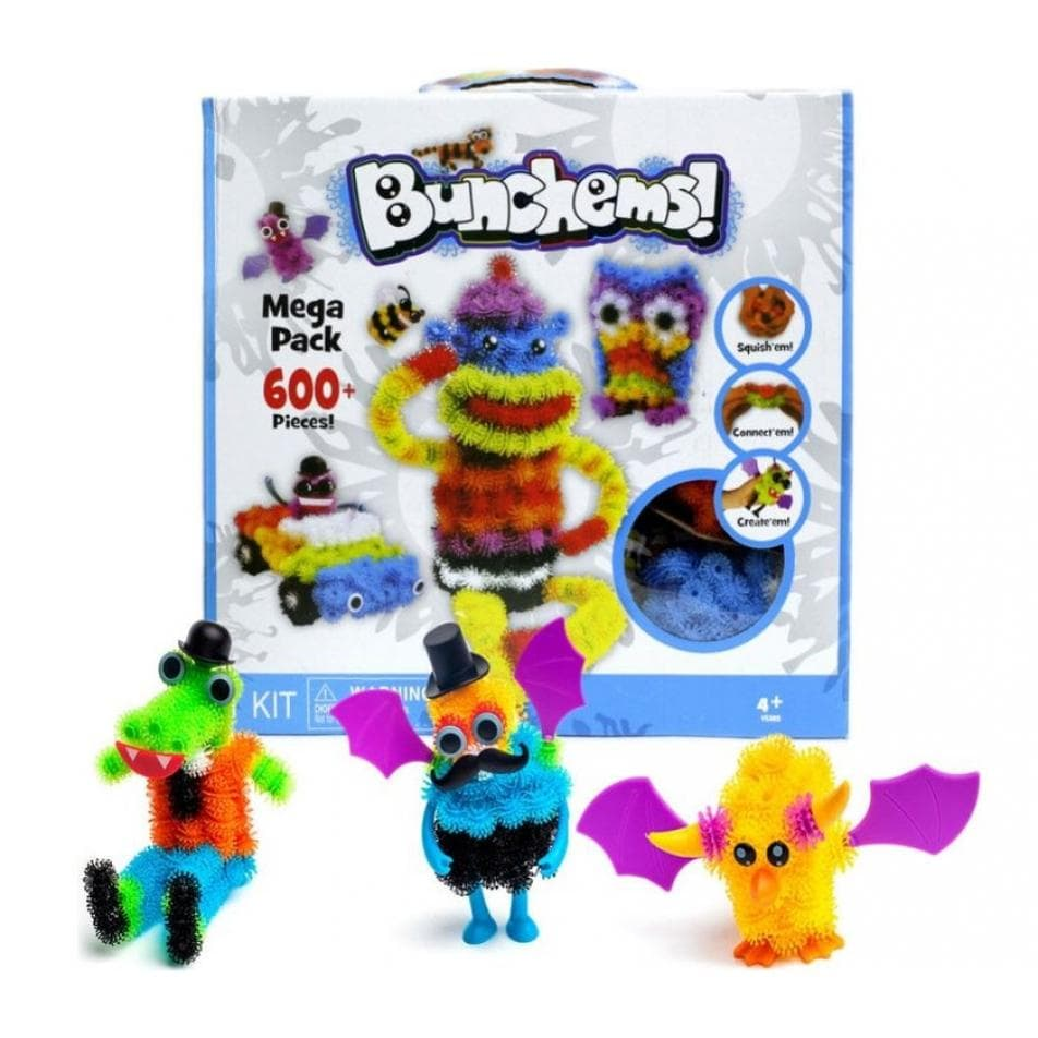 Jual Mainan Edukasi Magic Puffer Ball Bunchem Mega Pack 600 Bunchems Anak Olk2shop Tokopedia