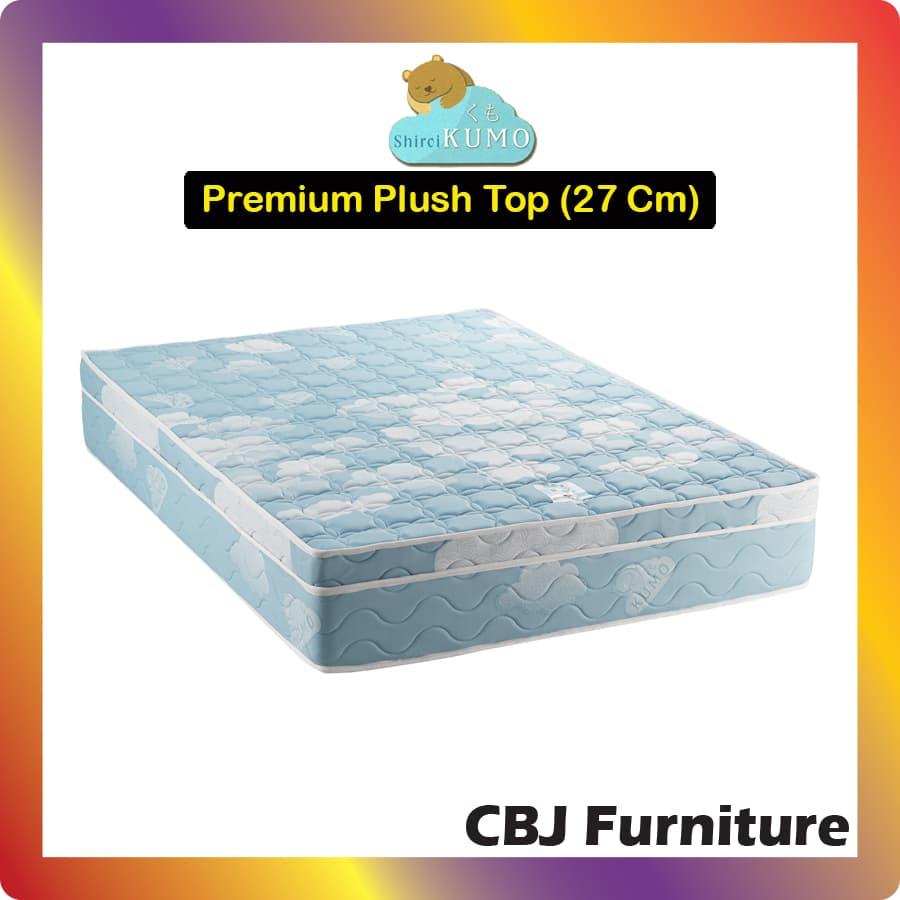 Kumo Kasur Busa Cool Gel Foam Premium Super Plush Top (27 Cm) 120x200 - Hanya Kasur (Khusus Jabodetabek)
