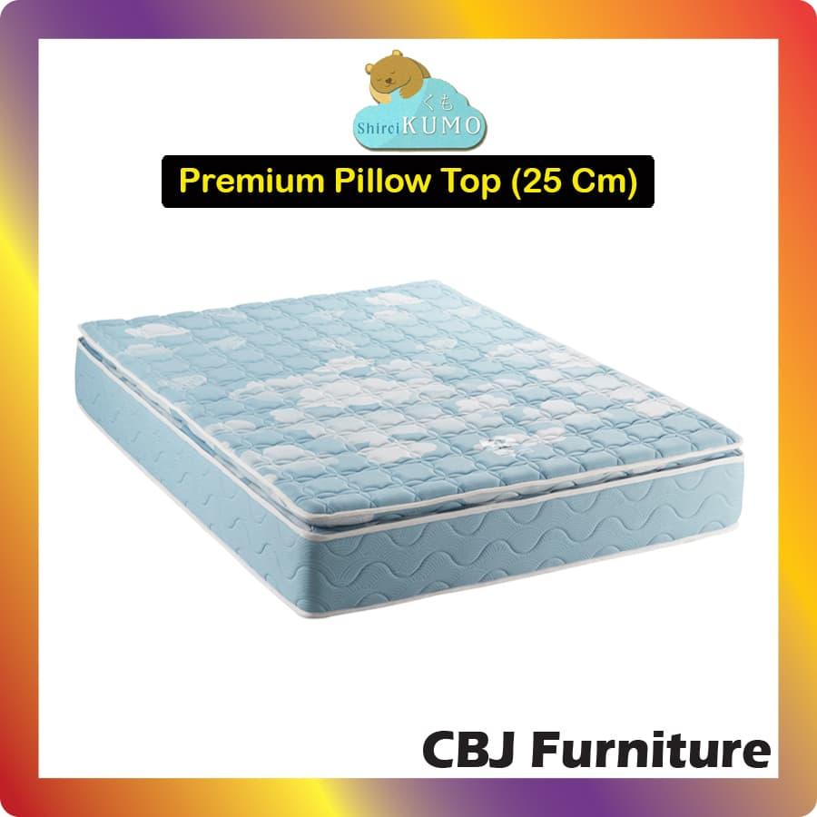 Kumo Kasur Busa Cool Gel Foam Premium Super Pillowtop (25 Cm) 90x200 - Hanya Kasur (Khusus Jabodetabek)