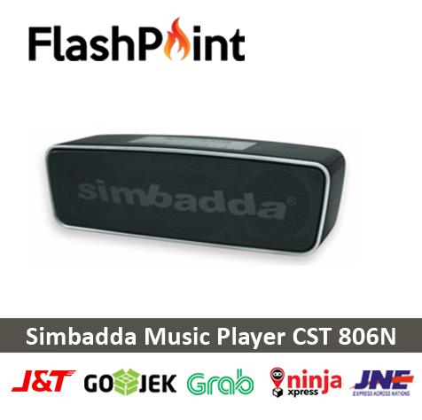 SPEAKER BLUETOOTH SIMBADDA MUSIC PLAYER CST 806N GARANSI RESMI
