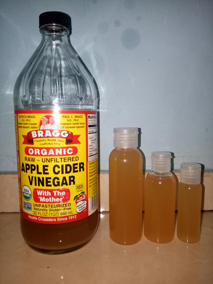 Bragg Apple Cider Vinegar (CUKA APEL) Pure 60ml