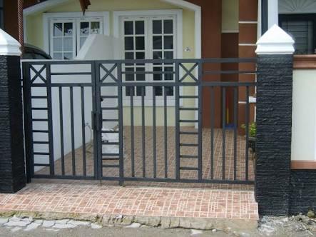 Jual Pintu Pagar Rumah Dorong Model Minimalis Kota Bekasi Berkah Jaya Las Tokopedia