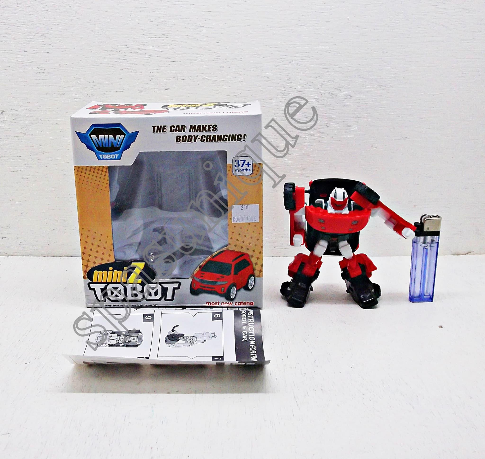 Jual KPS Mainan Mini Tobot Mini Z Berubah Bentuk 238 spasunique