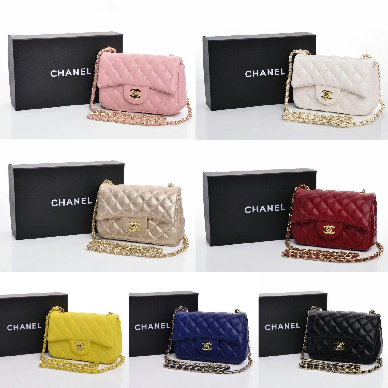 Jual Tas Chanel Mini Classic Lambskin Box Semi Premium 3019 ... 613b04fca7