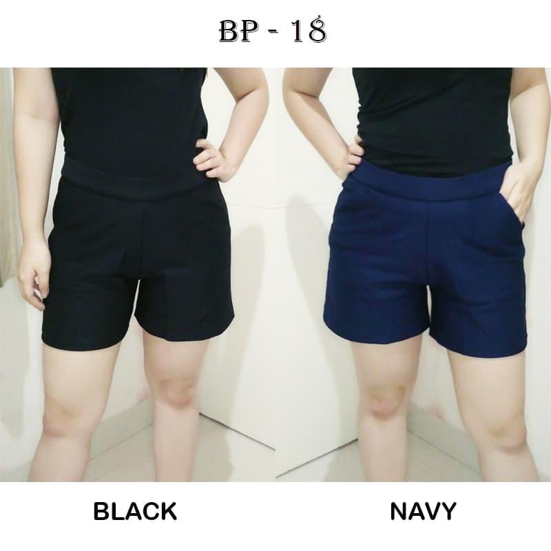 BP18 - PANTS - STANDAR - BAWAHAN MODERN CELANA PENDEK - Blanja.com