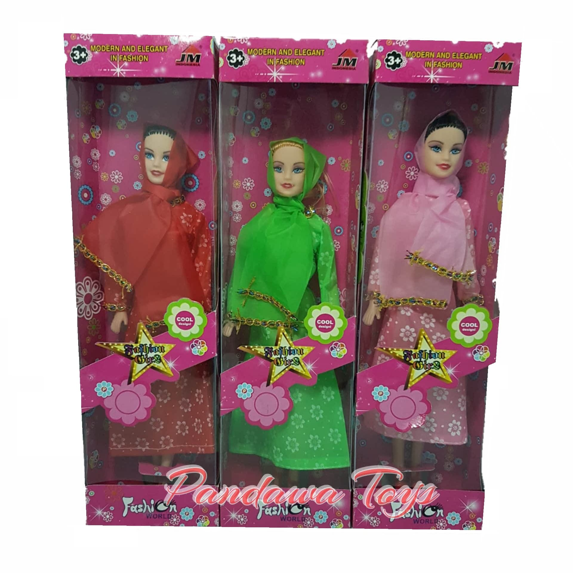 Jual Boneka Barbie Hijab Mukena Murah Indah Parasnya Barby Lebaran Kesaayangan Anak