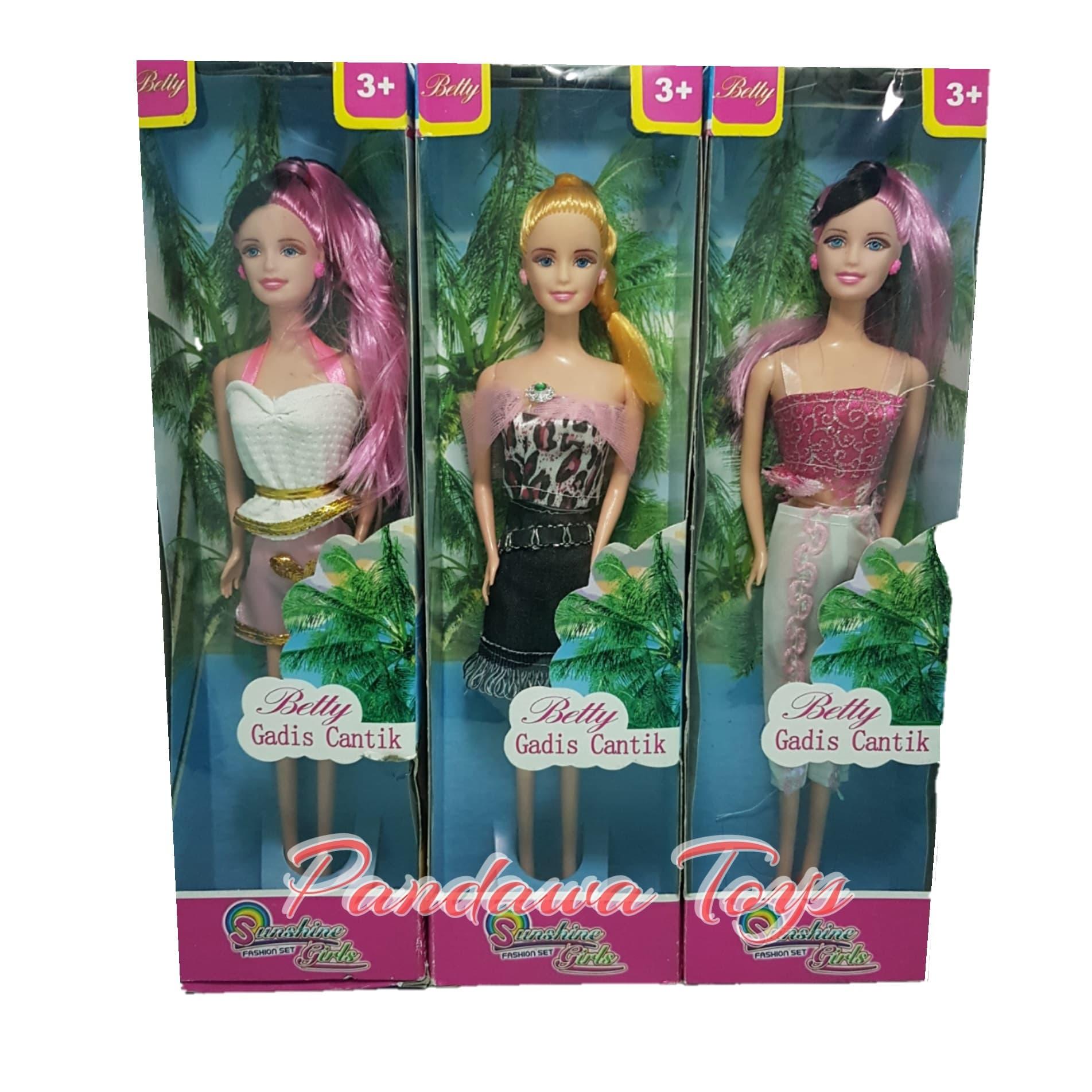 Boneka Betty Gadis Cantik Boneka Betty Indah Boneka Frozen Anak Boneka Murah  Kesayangan Anak 029693def6