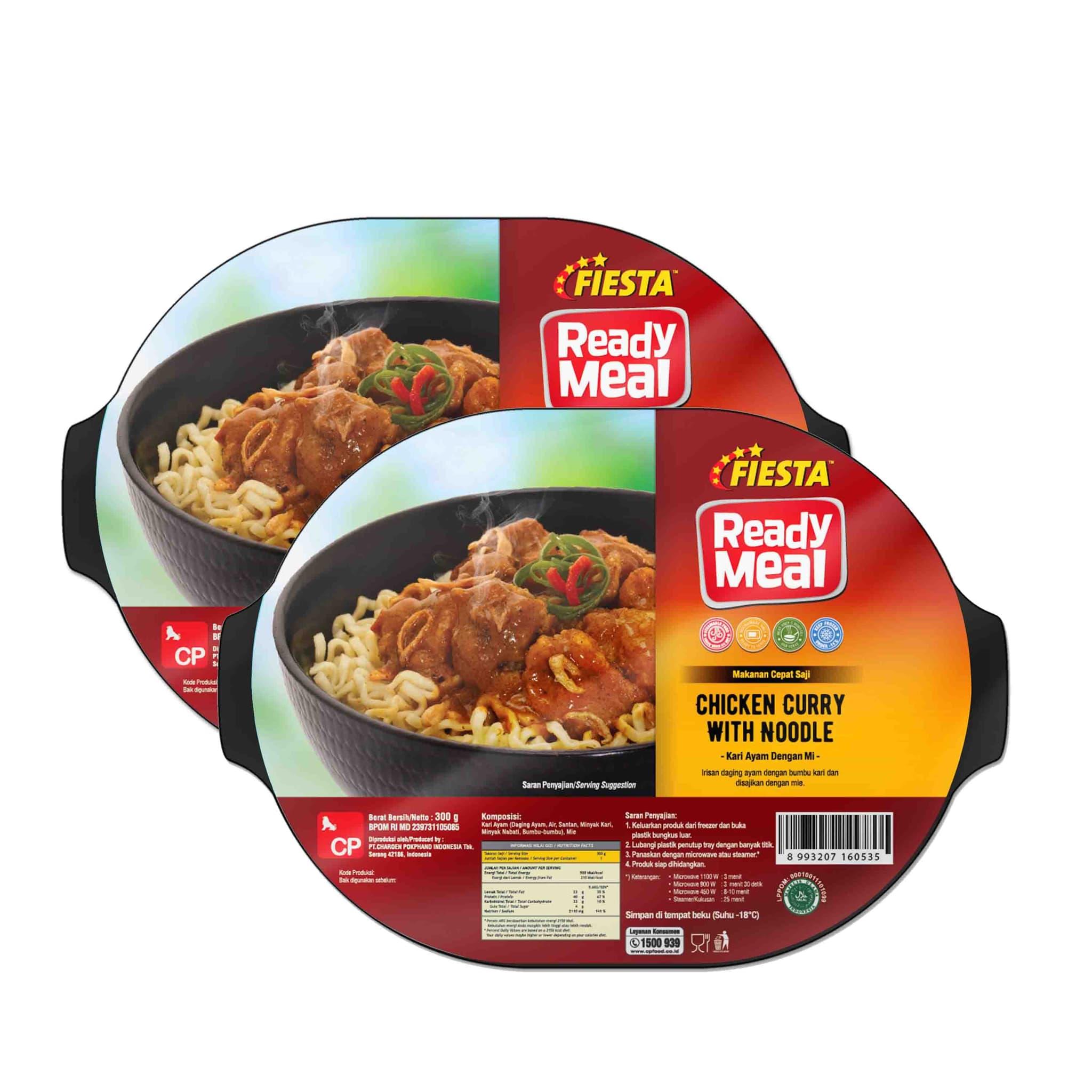 Promo Fiesta Chic Curry W/ Noodle 6pcs  (Mohon Segera Dikonsumsi) - Blanja.com