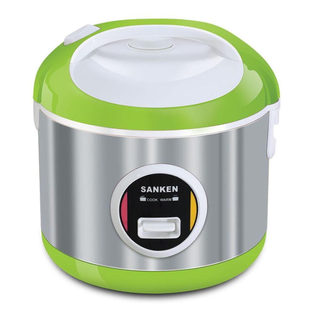 Sanken - Magic Com 2 Liter 6in1 Hijau Sj3050