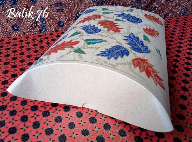 Pembungkus Kado Pillow Box Pillow Bag Handmade Premium Souvenir Kado Batik Alur 3pcs - Blanja.com