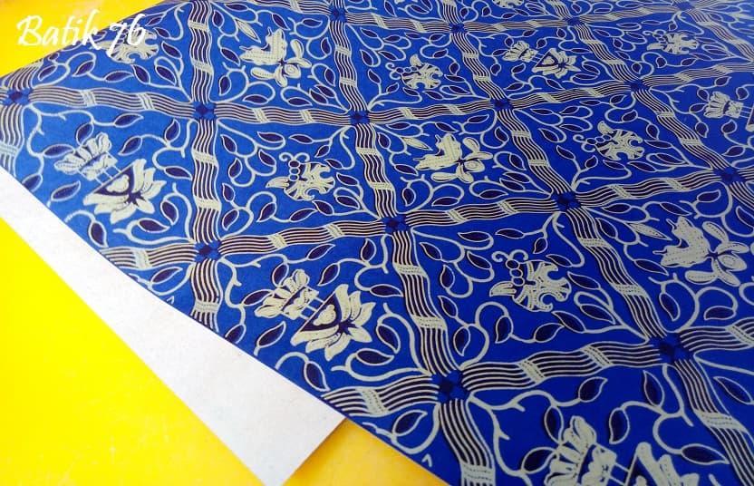 Wrapping Paper Handmade Bungkus Kado Kertas Kado Premium Batik Sidomukti Biru - Blanja.com
