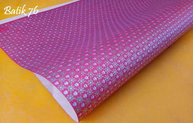 Packing Kado Handmade Premium Kertas Kado Wrapping Paper Batik Truntum Merah - Blanja.com