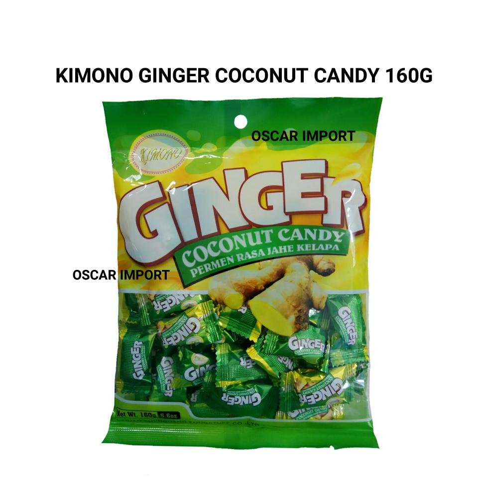 Jual KIMONO GINGER COCONUT CANDY PERMEN RASA JAHE KELAPA 160GR OSCAR IMPORT Tokopedia .