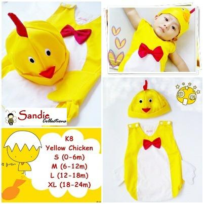 Jumper Karakter Premium Kostum Bayi Ayam - Blanja.com