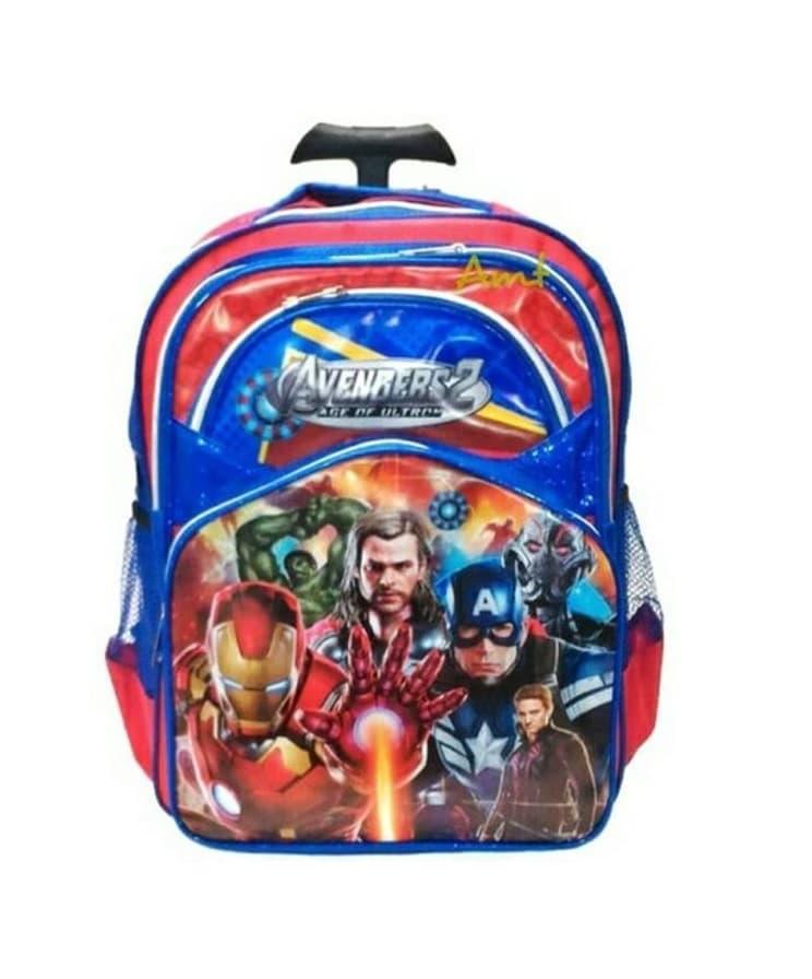 Tas Troli Anak Gagang 1 TK Avengers