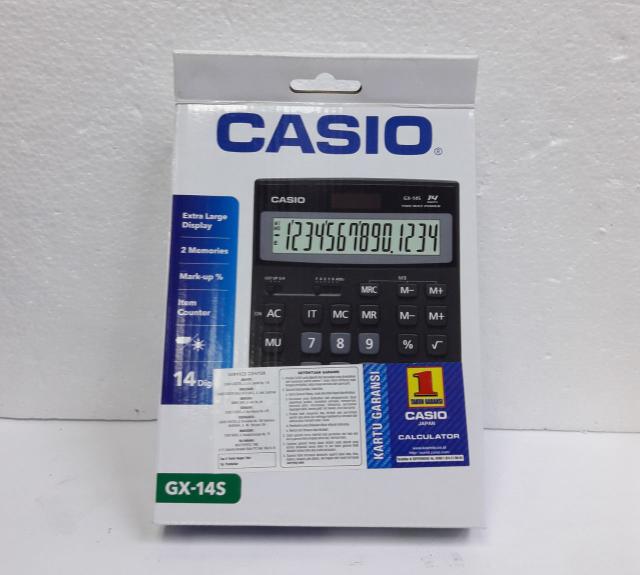 harga Casio Calculator Gx - 14 S Blanja.com
