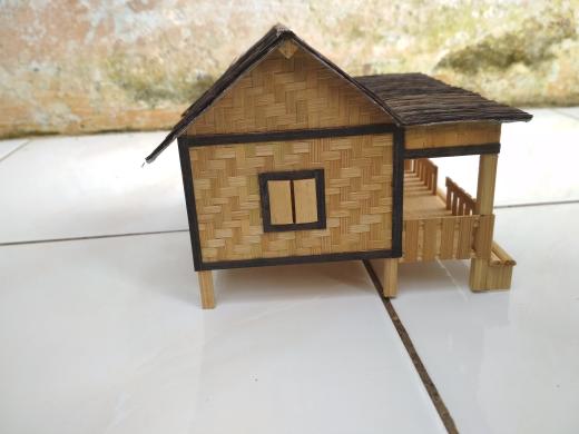 Info 37 Kerajinan Dari Bambu Miniatur Rumah
