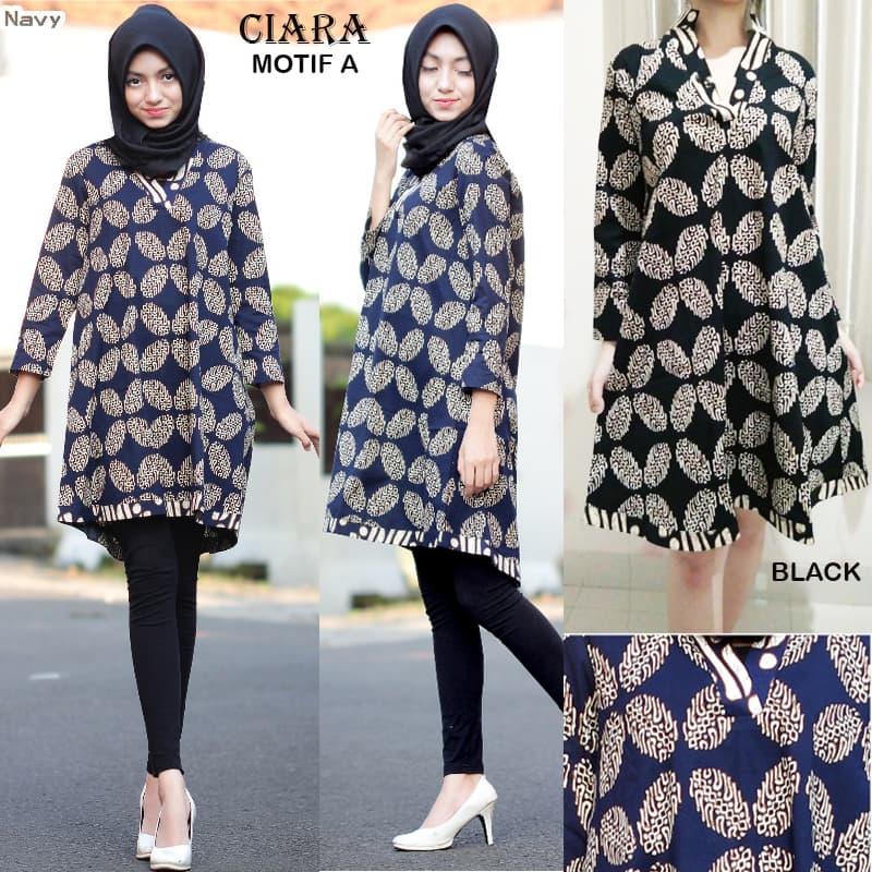 CIARA MOTIF A JUMBO - TUNIK DRESS Batik Modern GAUN Batik
