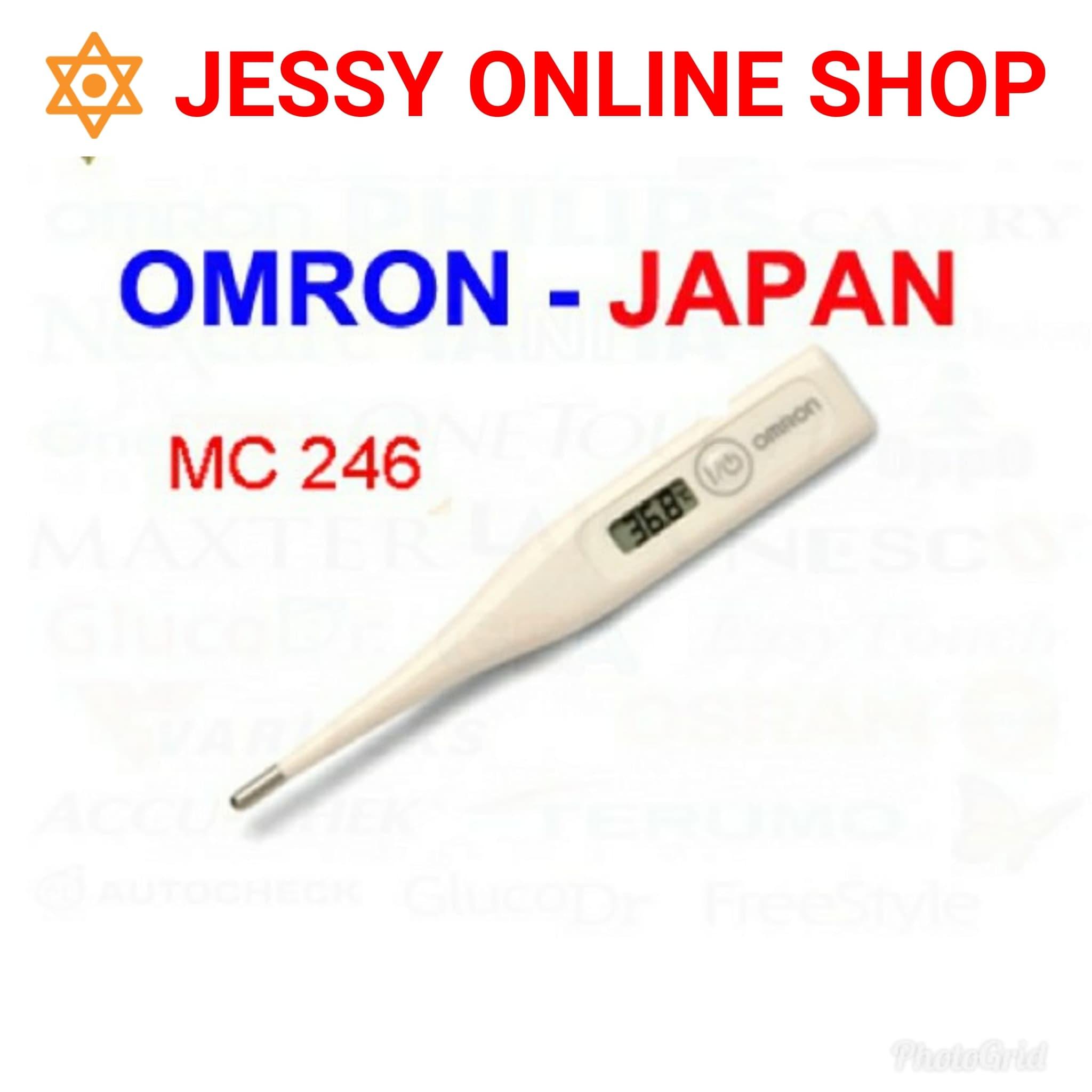 Jual Termometer Digital Omron Mc246 Thermometer Mc 246 Jessyonlineshop Tokopedia