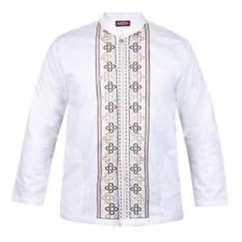 Baju Koko / Baju Koko Pria / Busana Muslim Pria / Baju Muslim Type 52 - Putih