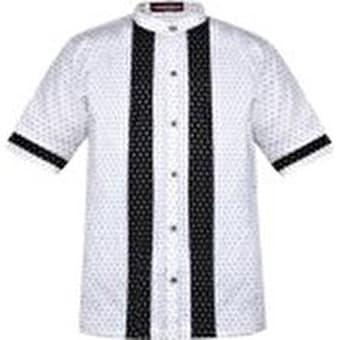 Baju Koko / Baju Koko Pria / Busana Muslim Pria / Baju Muslim Type 23 - Putih