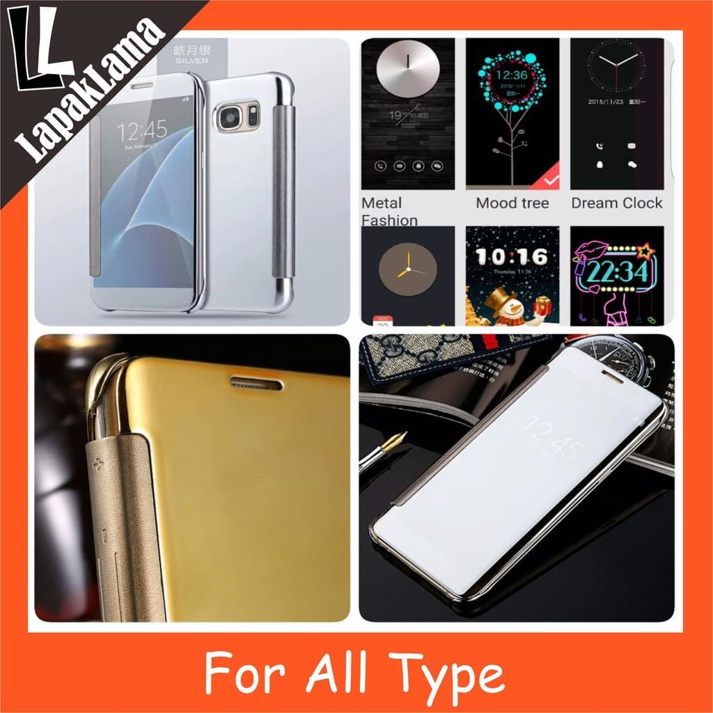 39f8a2f6d094 Jual Turun Harga ALL TYPE FLIP COVER MIRROR For iPhone ...