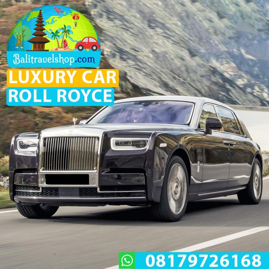 Voucher Rental Mobil Mewah Bali Luxury Car Rental Rolls Royce Phantom