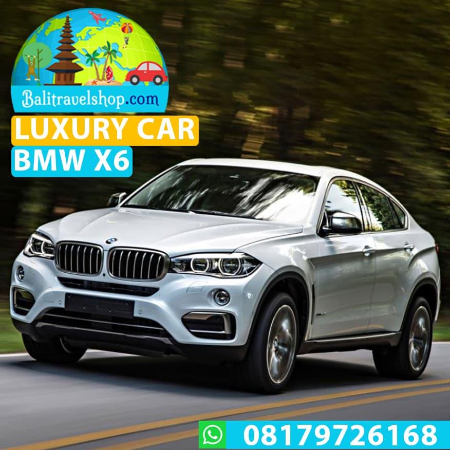 Voucher Mobil Mewah Bali Luxury Car Rental BMW X6